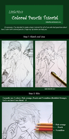 Colored pencil tutorial - Basic by LittleMn