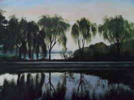 Reflections In The Willows by CaptainJoellie