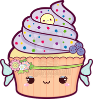 Kawaii Fairy Cupcake by mAi2x-chan