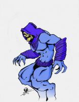 Skeletor Color by MoltenMan85