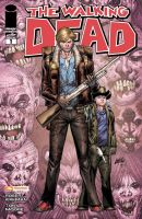 Walking Dead 1 variant cover by juan7fernandez