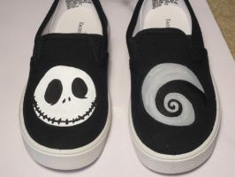 Nightmare Before Christmas Boys Shoes by Appleblossom2delta