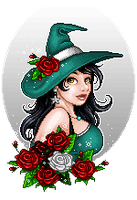 Rose witch by Gabonica