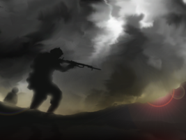 WW1 concept art by Volcol