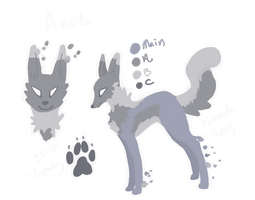 Axot Reference Sheet by Kama-ItaeteXIII