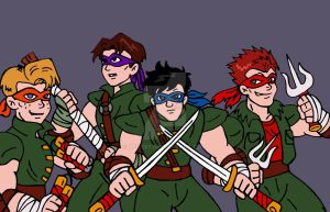 TMNT: Humanized by xero87