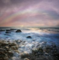 Rainbow Background by flordelys-stock