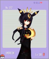 PKMN 197 Umbreon by mikane