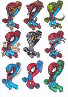 Spider-suits 10 by GabRed-Hat
