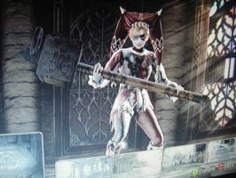 Harley Quinn on soul calibur 4 by PirateFuzzle