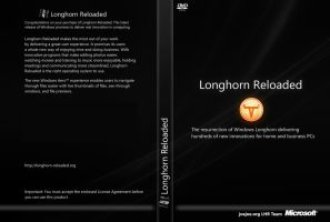 Longhorn Reloaded DVD Cover by counteralchemist