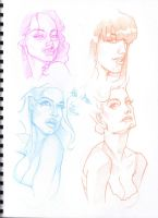 Sketching Faces by MarcoGuaglione
