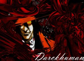 Alucard on Hell by Darckhuman
