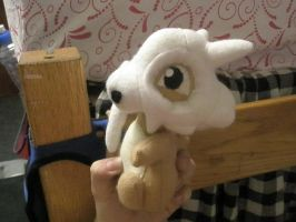Sitting Cubone Plush by Vulpes-Canis