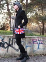 Me and my Great Britain knitted bag by baryshnikova