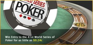 World Series of Poker banner by mangion