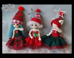 puki xmas dresses 1 by patchworkers