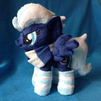 Night Glider In Socks Plush Handmade Custom My Lit by RufousCat