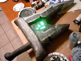 Riven Sword - WIP [Painting Done] by angelarcanine