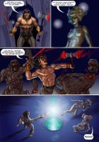 Sword and sorcery pastiche page 4 of 5 by Nick-Perks