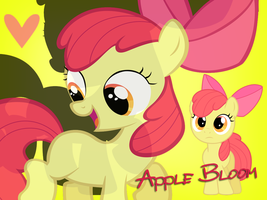 AppleBloom Wallpaper by Ichigooneechan66