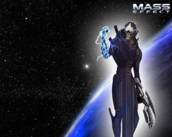 Mass Effect - Saren Wallpaper by Yula568