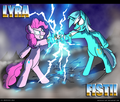 MLP: LYRA-FIST!!! by AniRichie-Art