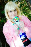 Shiemi Moriyama - ao no exorcist cosplay by xRika89x