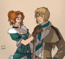 Gillian and Fillan by Autumn-Sacura