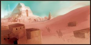 Egypt speed paint two by Noe-Leyva