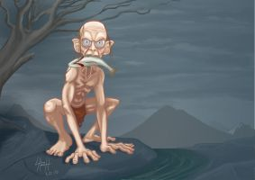 Gollum by LaRhsReBirTh
