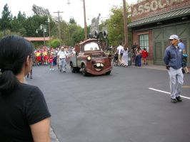Mater arrived in Carsland. by Prince5s
