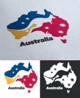 Logo design for a austrailian local magazine by TimothyGuo86