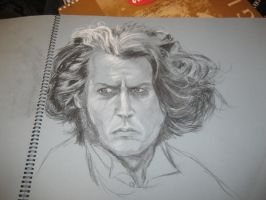 Sweeney Todd: Johnny Depp by pwnlorr
