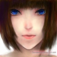 Brunette by BunnyKick