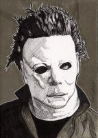 Michael Myers by Bill-Pulkovski