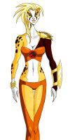 Cheetara Redesign Sketch by GeorgeSellas