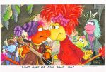Fraggle Threats HUGE by Phraggle