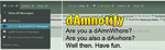 dAmnotify for Google Chrome by Fxy