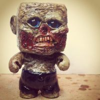 Zombie Custom Sculpted Vinyl Toy by st8exprs