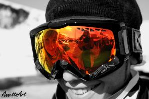 Mirrored goggles by aNNeTTs