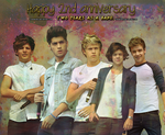 HAPPY BIRTHDAY ONE DIRECTION by WasabiSky