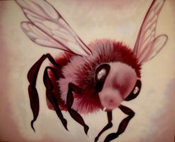 Pink Bee by LuxNova