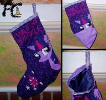 Twilight X-mas Stocking by kelseyleah