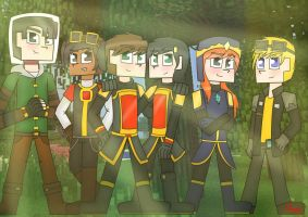 Minecraft Story Mode : The New Order of the Stone by TheMaroonLightning