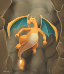 Commission - Charizard by xlolfishx