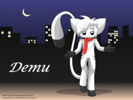 Demu in the night by MarwanGreenCritter