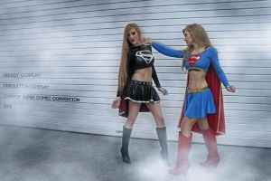 Epic SuperGirls Fighting by Hekady