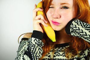 Banana phone by taylornoellemorgan