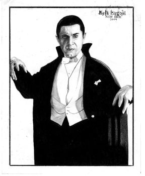 Bela Lugosi by trephinate